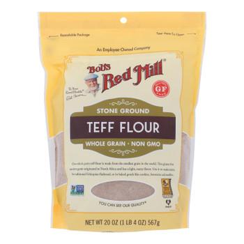 Bob's Red Mill - Flour Teff G/f - Case Of 4-20 Oz