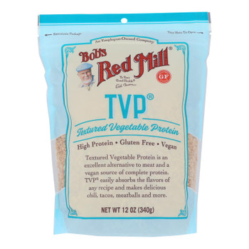 Bob's Red Mill - Texturized Veg Protein G/f - Case Of 4-12 Oz