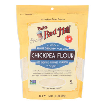 Bob's Red Mill - Flour Chickpea - Case Of 4-16 Oz