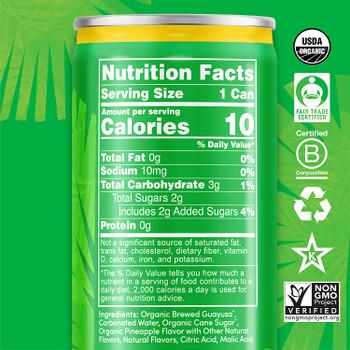 Runa - Drink Pneapl Rtd Can - Case Of 12-12 Fz