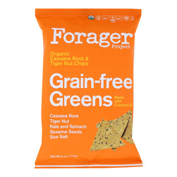 Forager Project - Veg Chips Grainfree Green - Case Of 8-5 Oz