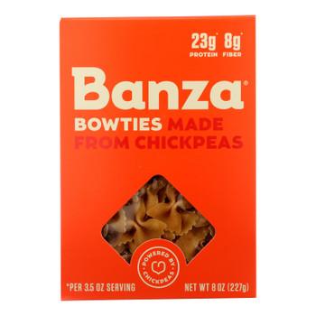 Banza - Pasta Chickpea Bowties - Case Of 6-7 Oz