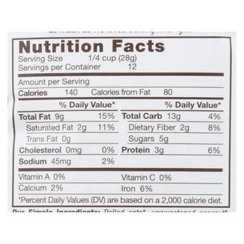 Michele's Granola - Granola Ginger Hemp - Case Of 6-12 Oz