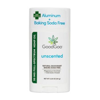 Green Goo Good Goo - Hemp Deodorant Unscented - 1 Each - 2.25 Oz