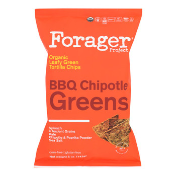 Forager Project - Veg Chips Chptl Bbq Green - Case Of 8-5 Oz
