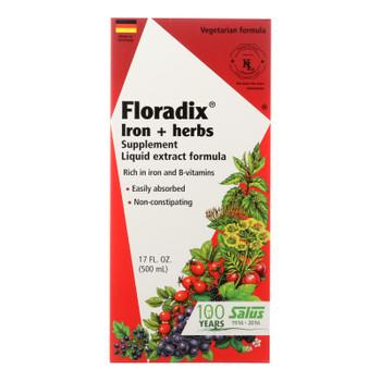 Flora Inc - Floradix Iron Formula - Ea Of 1-17 Oz