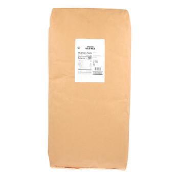 Lundberg Organic Wild Rice  - Case Of 25 Lbs.