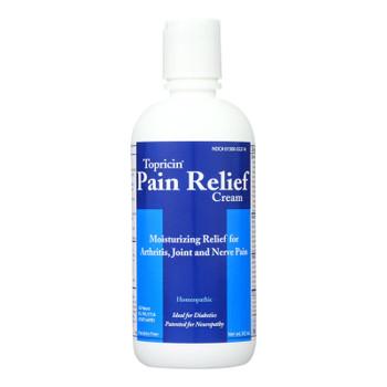 Topricin Anti-inflammatory Pain Relief And Healing Cream - 8 Oz