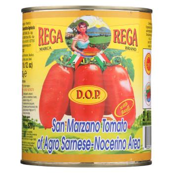 Rega Brand - Ital Tom Whole Peeled Dop - Case Of 12 - 28 Oz