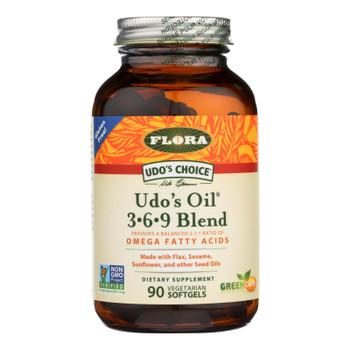 Flora Inc - Udo's Oil 369 Blend - Ea Of 1-90 Sgel
