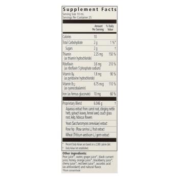 Flora Inc - Floradix Iron Plus Herbs - Ea Of 1-8.5 Fz