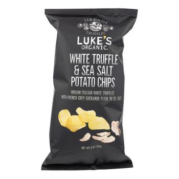 Luke's Organic - Chips Urbani Wht Trfl - Case Of 9 - 4 Oz