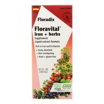 Flora Inc - Iron Floravital W/herbs - Ea Of 1-8.5 Fz