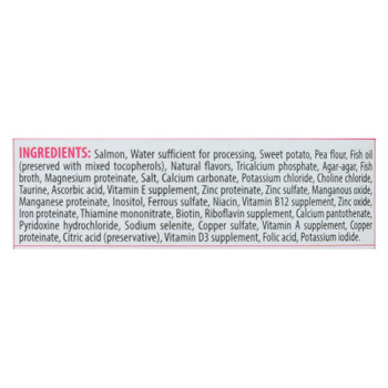 Tender & True - Cat Food Salmon&swt Pot - Case Of 24 - 5.5 Oz