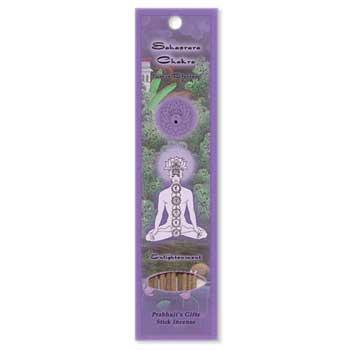 Sahasrara Chakra Incense Stick 10 Pack