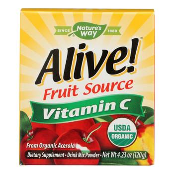Nature's Way - Alive! Fruit Source Vitamin C - 120g