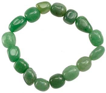 Green Aventurive Gemstone Bracelet