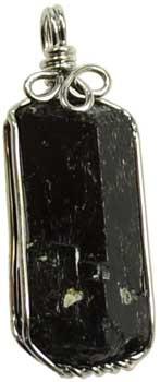Black Tourmaline Wire Wrapped