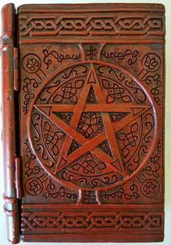 "4"" X 6"" Pentagram Book Box"