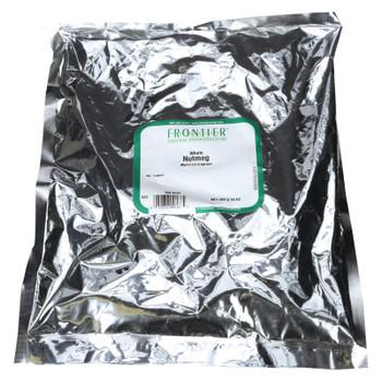 Frontier Herb Nutmeg - Whole - Bulk - 1 Lb