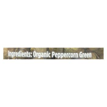 Spicely Organics - Organic Green Peppercorn - Case Of 3 - 1.2 Oz.