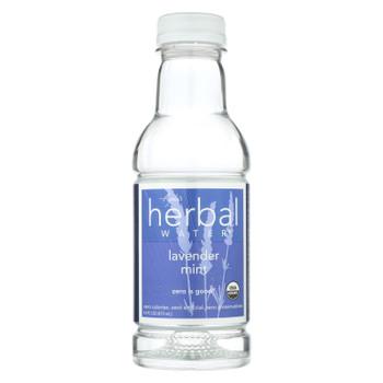 Ayala's Herbal Water - Still Lavender Mint - Case Of 12 - 16 Fl Oz.