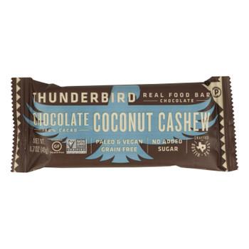 Thunderbird - Bar Chocolate Coconut Cashew - Case Of 15 - 1.7 Oz