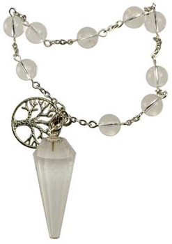 Quartz Pendulum Bracelet