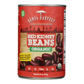 Dunya Harvest - Red Kidney Beans Can - Case Of 12 - 15 Oz