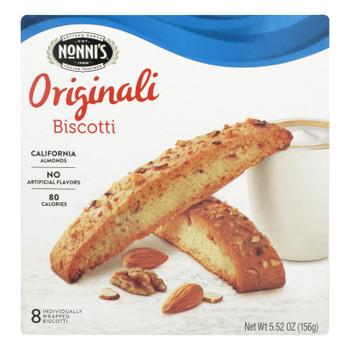 Nonni's Originali Biscotti, Originali - Case Of 12 - 8 Ct