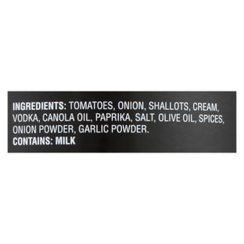 Pirro's Sauce Rustic Vodka Pasta Sauce  - Case Of 6 - 24 Oz