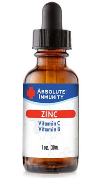 Absolute Immunity - Zinc Concentrate - Ea Of 1-1 Oz