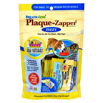 Ark Naturals Breath-less Plaque-zapper - Fizzy - Small To Medium Pets - 30 Count