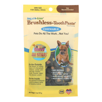 Ark Naturals Breath-less Brushless Toothpaste - 4 Oz