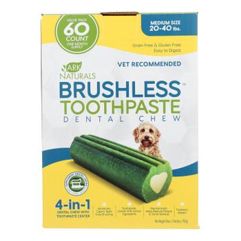 Ark Naturals - Brshls Tpst Dental Chw Md - 1 Each - 60 Ct