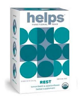 Helps Teas - Tea Helps Rest - Case Of 4 - 16 Bag