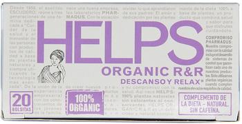 Help Organic Tea - Functional Tea Relax - Case Of 6-16 Bag