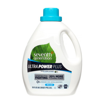 Seventh Generation - Liquid Laundry Free & Clear - Case Of 4 - 95 Fz