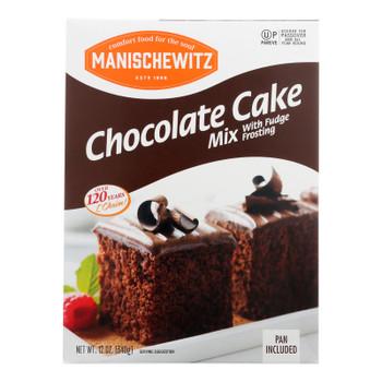 Manischewitz - Mix Cake Chocolate Kosher For Passover - Case Of 12-12 Oz