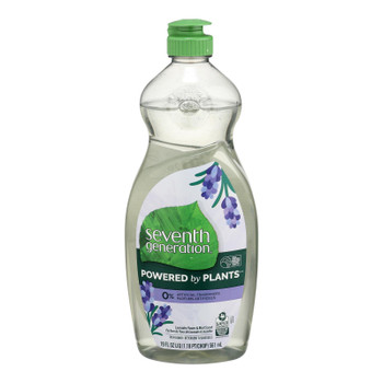 Seventh Generation - Dish Liquid Lavender Mint - Case Of 6-19 Fz