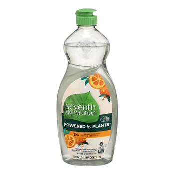 Seventh Generation - Dish Liquid Lemongrass Clementine - Case Of 6-19 Fz