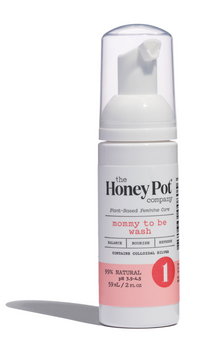 The Honey Pot - Intimate Wash Mom To Be Travel - 2 Fz