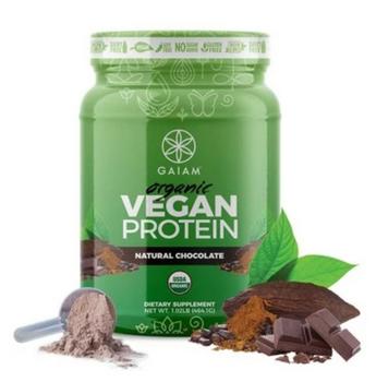 Gaiam - Protein Vegan Chocolate - 1 Each - 18 Oz