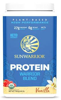 Sunwarrior - Warrior Blend Vanilla - 1 Each - 300 Grm