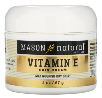 Mason Naturals - Vitamin E Cream 6000 Iu - 1 Each - 2 Oz