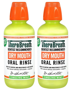 Therabreath - Oral Rinse Dry Mouth Mint - 1 Each-16 Oz