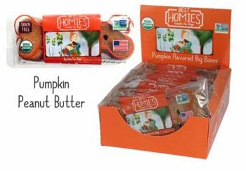 Best Homies - Dog Bone Pumpkin Big - Case Of 12 - 2 Oz