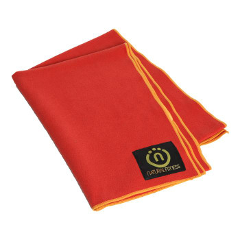 Natural Fitness - Yoga Mat Towel Red Rck Sn - 1 Each - 1.08 Lb