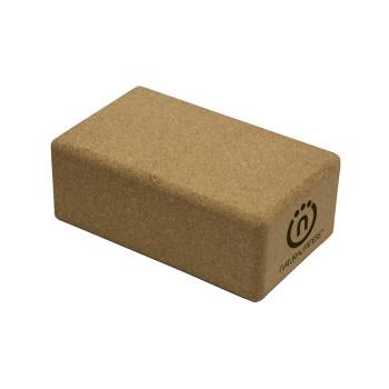 Natural Fitness - Cork Yoga Block 5.5x9x3.5 - 1 Each - 1.8 Lb