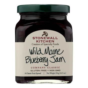 Stonewall Kitchen Wild Maine Blueberry Jam - Case Of 12 - 12.5 Oz